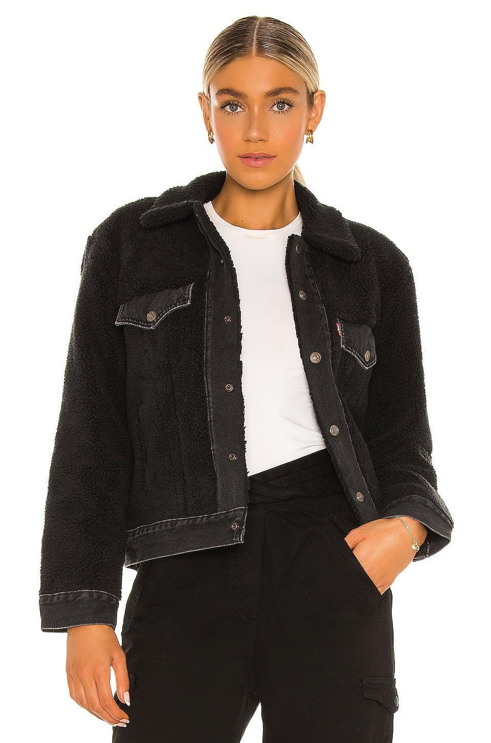 <p>We're loving everything about this <span>Levi's Ex BF Pieced Sherpa Trucker Jacket</span> ($128).</p>