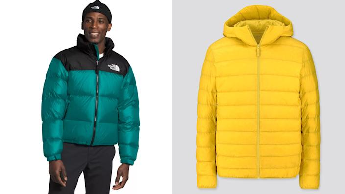 Best gifts for teen boys: The North Face and Uniqlo coats