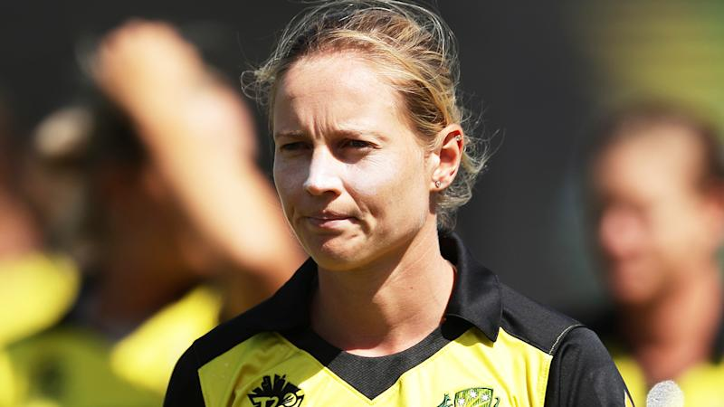 Meg Lanning, pictured during Australian T20 World Cup match against New Zealand.