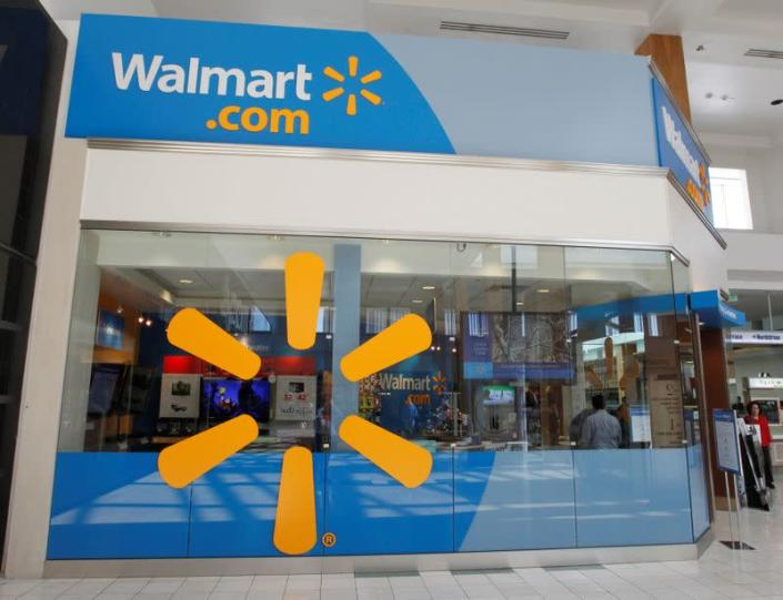 FILE PHOTO: A view of the Wal-Mart.com store in Canoga Park