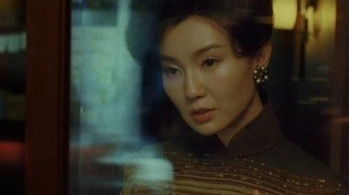 Maggie Cheung in the never-before-seen footage from 'In the Mood for Love'