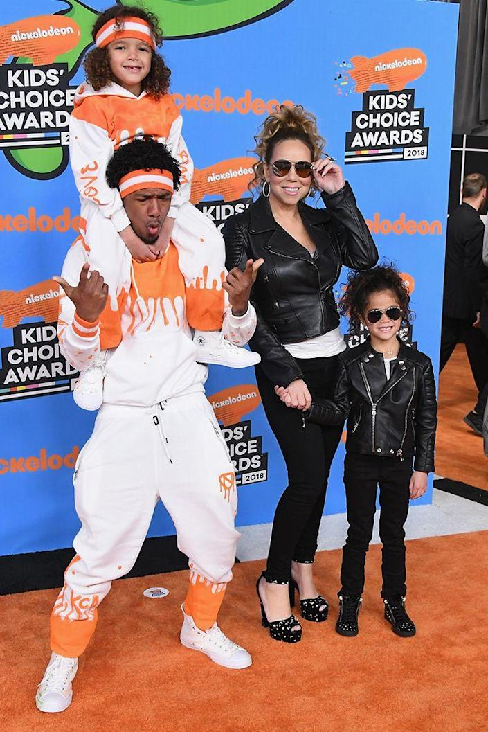 <p>Monroe and Moroccan spend plenty of time with their busy parents, including walking red carpets as a family. Sometimes they even wear matching outfits. </p>