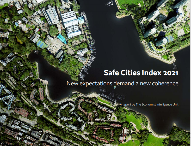 FILE PHOTO: Screengrab from The Economist Intelligence Unit's Safe Cities Index 2021 (Source: The Economist Intelligence Unit)