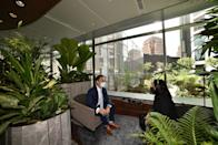 """Designed to enhance a visitor's connectivity to nature, Citi Wealth Hub at 268 Orchard embodies a Biophilic Design, with some meeting rooms transformed into """"garden pods"""". (Source: Citi)"""