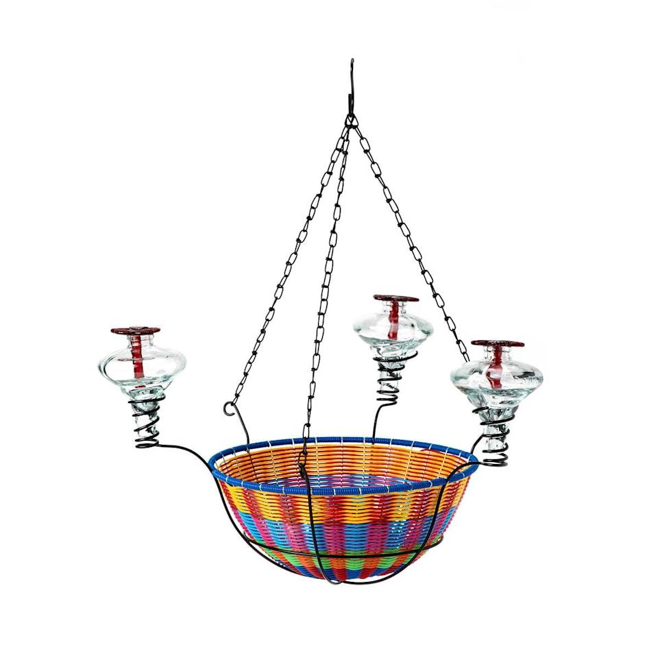 <p>The <span>Hanging Basket Hummingbird Feeder</span> ($75) will let your loved one appreciate the outdoors more.</p>