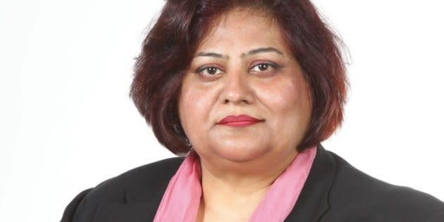 Tasleem Riaz, an Ontario NDP candidate in Scarborough-Agincourt, is shown in a Facebook photo.