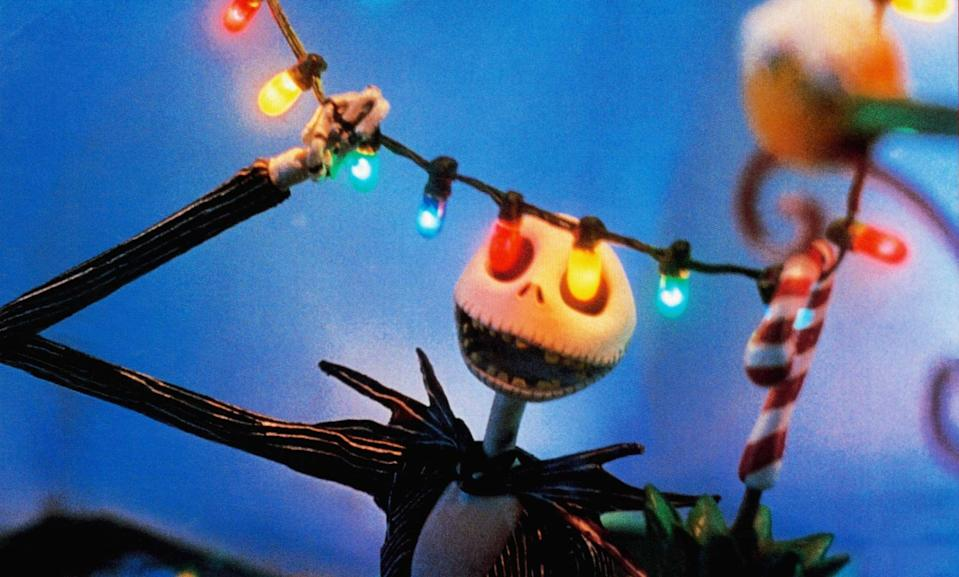 "<p>One of Tim Burton's most beloved characters, Jack Skellington aka ""The Pumpkin King"" is the darling of <a class=""link rapid-noclick-resp"" href=""https://www.popsugar.com/Halloween"" rel=""nofollow noopener"" target=""_blank"" data-ylk=""slk:Halloween"">Halloween</a> Town, a place that is all Halloween all the time. Craving a change, Jack wanders out of town and stumbles upon the portal to Christmas Town. Awed by the snow, lights, and ""Sandy Claws,"" Jack returns to Halloween Town determined to plan his own Christmas. The stop-motion flick has fabulous songs and is perfect for anyone who can't decide between Christmas and Halloween.</p> <p><a href=""https://www.disneyplus.com/movies/tim-burtons-the-nightmare-before-christmas/5GjwOj5Rkpz2"" class=""link rapid-noclick-resp"" rel=""nofollow noopener"" target=""_blank"" data-ylk=""slk:Watch The Nightmare Before Christmas on Disney+"">Watch <strong>The Nightmare Before Christmas</strong> on Disney+</a>.</p>"