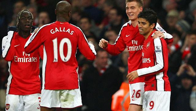 <p>There is something about a defender wearing a traditionally attacking player's kit number which just feels wrong. It felt especially wrong for centre-back William Gallas to take the number at Arsenal, considering who wore it before him.</p> <br><p>Dennis Bergkamp, one of the greatest players to ever play for Arsenal, was the number 10 before he retired in 2006. His iconic shirt number was given to a defender. </p> <br><p>Manager Arsene Wenger defended the decision by saying he did not want to give an attacking player the pressure of Bergkamp's number. But still, William Gallas?</p>