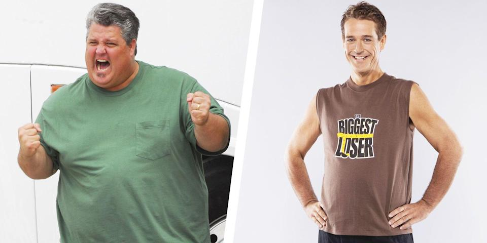 """<p><em>The Biggest Loser </em>was known for having some <a href=""""https://www.womenshealthmag.com/weight-loss/g27395158/biggest-loser-contestants-then-and-now/"""" rel=""""nofollow noopener"""" target=""""_blank"""" data-ylk=""""slk:seriously impressive transformations"""" class=""""link rapid-noclick-resp"""">seriously impressive transformations</a>. Contestants shed hundreds of pounds—and even half their body weight, in some cases—in an attempt to change their lifestyle and win the $250,000 grand prize. We're sharing the most jaw-dropping results in the show's history.</p>"""
