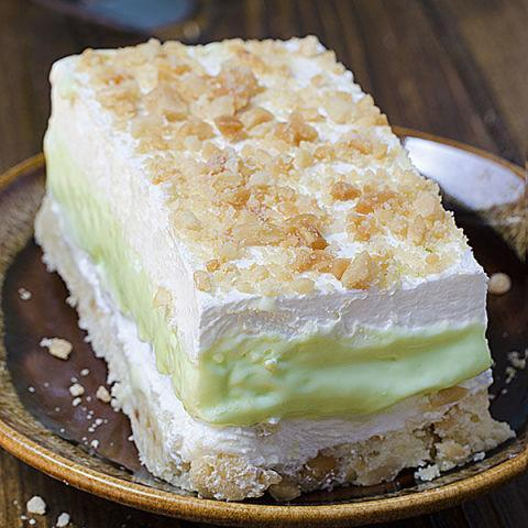 "<p>Maybe you're not a chocolate lover. That's okay. This fluffy key lime pie lasagna with a shortbread crust is just as heavenly. </p><p><a href=""http://omgchocolatedesserts.com/key-lime-pie-lasagna/"" rel=""nofollow noopener"" target=""_blank"" data-ylk=""slk:Get the recipe from OMG Chocolate Desserts »"" class=""link rapid-noclick-resp"">Get the recipe from OMG Chocolate Desserts »</a><br></p><p><br></p>"
