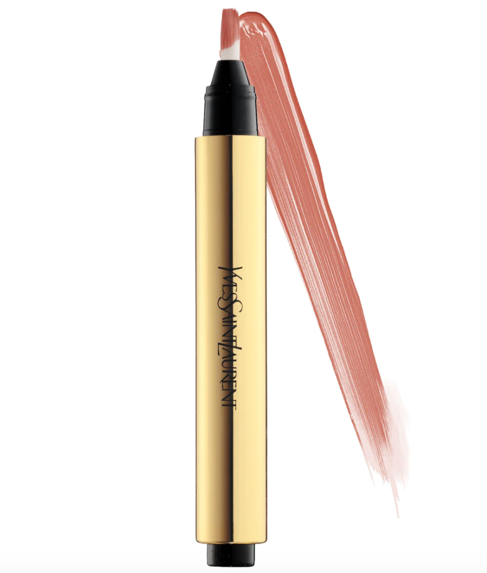 """<p><strong>Yves Saint Laurent</strong></p><p>sephora.com</p><p><strong>$38.00</strong></p><p><a href=""""https://go.redirectingat.com?id=74968X1596630&url=https%3A%2F%2Fwww.sephora.com%2Fproduct%2Ftouche-eclat-radiance-perfecting-pen-P218431&sref=https%3A%2F%2Fwww.thepioneerwoman.com%2Fbeauty%2Fskin-makeup-nails%2Fg36563969%2Fbest-concealers-for-mature-skin%2F"""" rel=""""nofollow noopener"""" target=""""_blank"""" data-ylk=""""slk:Shop Now"""" class=""""link rapid-noclick-resp"""">Shop Now</a></p><p>In addition to camouflaging dark circles, this under-eye specific concealer pen, which is sold in 14 shades, works to brighten the delicate skin beneath the eyes.</p>"""
