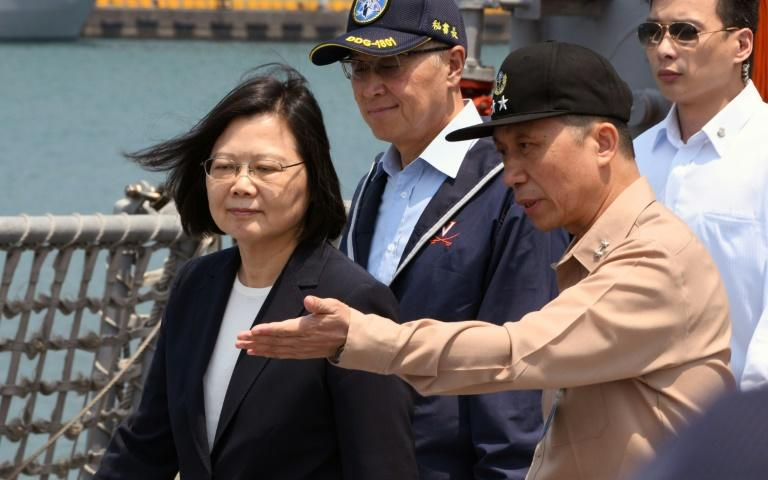 China is showing insecurity over 'more substantial developments' in US-Taiwan ties, the island's president Tsai Ing-wen says