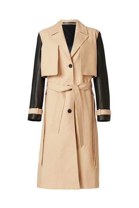 """<p><a class=""""link rapid-noclick-resp"""" href=""""https://go.redirectingat.com?id=127X1599956&url=https%3A%2F%2Fwww.allsaints.com%2Fwomen%2Fcoats-and-jackets%2Fallsaints-cade-trench-coat%2F&sref=https%3A%2F%2Fwww.harpersbazaar.com%2Fuk%2Ffashion%2Fwhat-to-wear%2Fg16661706%2Fbest-trench-coats%2F"""" rel=""""nofollow noopener"""" target=""""_blank"""" data-ylk=""""slk:SHOP NOW"""">SHOP NOW</a> </p><p>One of our favourites in this edit due its versatility, AllSaints' coat creates four looks in one. Those contrast sleeves aren't just for show, they detach to create a beige sleeveless trench; alternatively, you can unbutton the storm flaps to create a lightweight cropped jacket or gilet.</p><p>Cade 3-in-1 trench coat, £379, <a href=""""https://go.redirectingat.com?id=127X1599956&url=https%3A%2F%2Fwww.allsaints.com%2Fwomen%2Fcoats-and-jackets%2Fallsaints-cade-trench-coat%2F&sref=https%3A%2F%2Fwww.harpersbazaar.com%2Fuk%2Ffashion%2Fwhat-to-wear%2Fg16661706%2Fbest-trench-coats%2F"""" rel=""""nofollow noopener"""" target=""""_blank"""" data-ylk=""""slk:allsaints.com"""" class=""""link rapid-noclick-resp"""">allsaints.com</a></p>"""