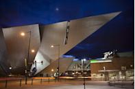 """<p><a href=""""https://www.denverartmuseum.org/en"""" rel=""""nofollow noopener"""" target=""""_blank"""" data-ylk=""""slk:Denver Art Museum"""" class=""""link rapid-noclick-resp"""">Denver Art Museum </a></p><p>This distinctive space is not only known for its vast art collection, but also its stunning architecture. The sharp angled North building was designed by Daniel Libeskind, and is situated next to the original castle-like museum space designed by Italian architect Gio Ponti. <br></p>"""