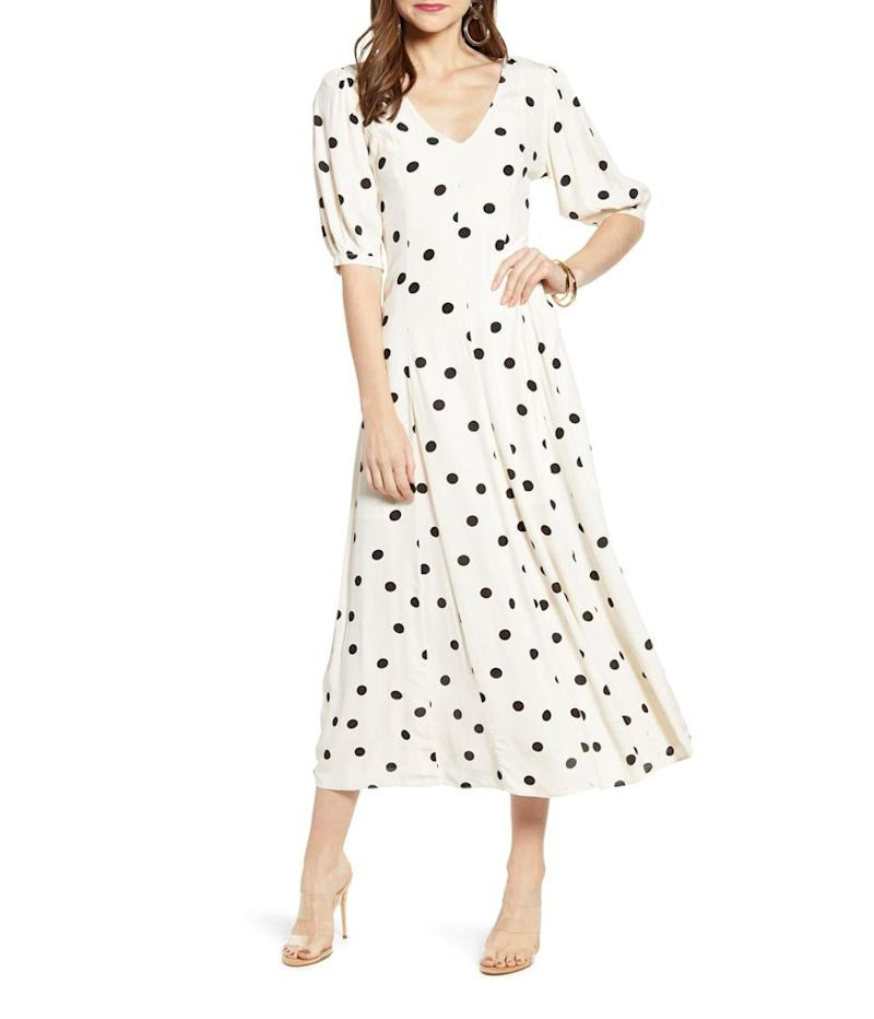 Something Navy Print Dress (Photo: Nordstrom)