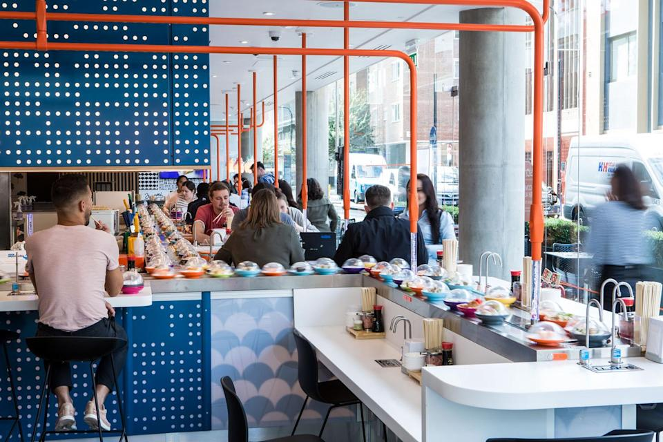 """The boss of Yo! Sushi says Londoners are enjoying a """"golden time"""" for food"""