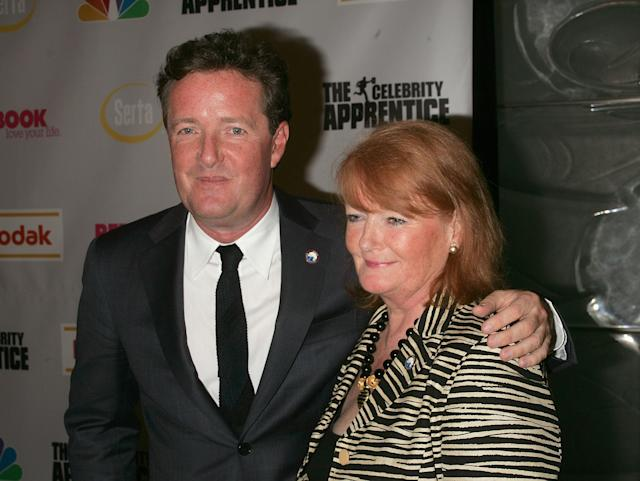 Piers Morgan has promised to buy his mother a BiIlly bookcase from Ikea. (Getty Images)