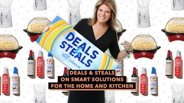 PHOTO:Deals & Steals on smart solutions for the home and kitchen (ABC News)