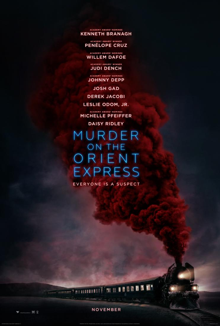 Murder On The Orient Express UK poster (20th Century Fox)