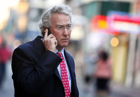 Former Chief Executive Officer, Chairman, and Co-founder of Chesapeake Energy Corporation Aubrey McClendon walks through the French Quarter in New Orleans, Louisiana in this March 26, 2012 file photo.    REUTERS/Sean Gardner/Files