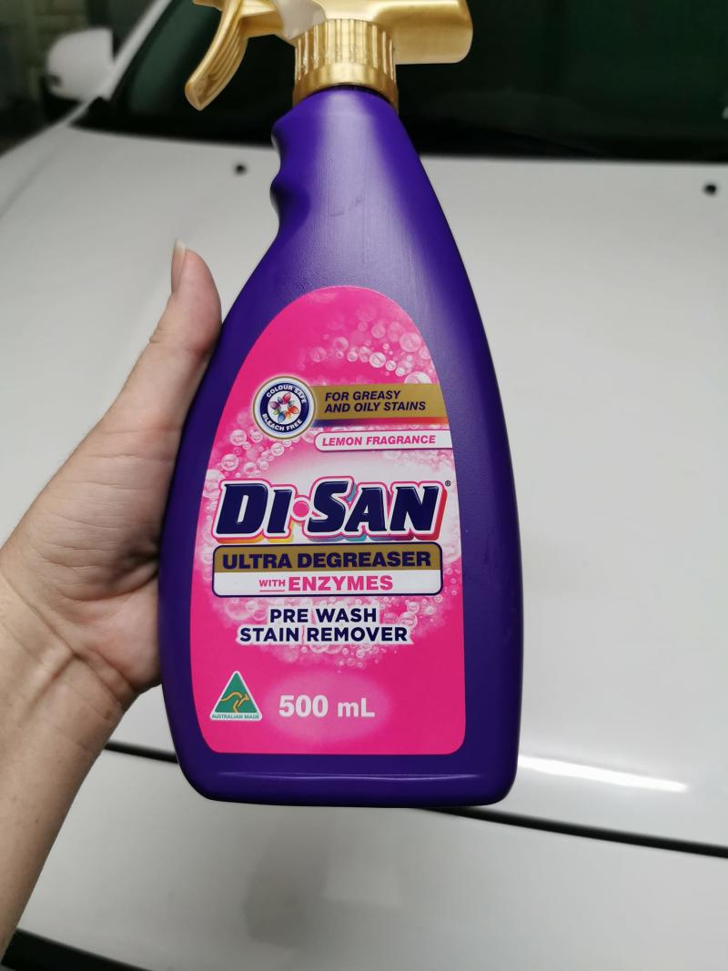 Aldi Di-San Pre Wash stain remover owned by mom