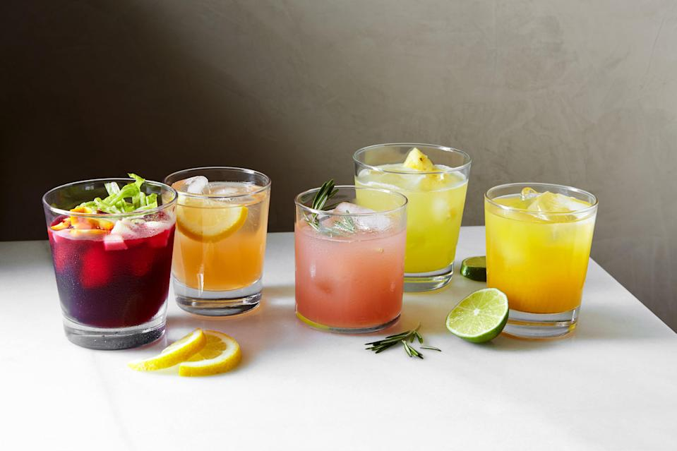 """Maybe you've figured out all the food—don't forget the beverages! Learn this <a href=""""https://www.epicurious.com/expert-advice/how-to-make-agua-fresca-article?mbid=synd_yahoo_rss"""" rel=""""nofollow noopener"""" target=""""_blank"""" data-ylk=""""slk:formula for agua fresca"""" class=""""link rapid-noclick-resp"""">formula for agua fresca</a>, and the flavor possibilities are endless. <a href=""""https://www.epicurious.com/recipes/food/views/aguas-frescas-general-formula?mbid=synd_yahoo_rss"""" rel=""""nofollow noopener"""" target=""""_blank"""" data-ylk=""""slk:See recipe."""" class=""""link rapid-noclick-resp"""">See recipe.</a>"""
