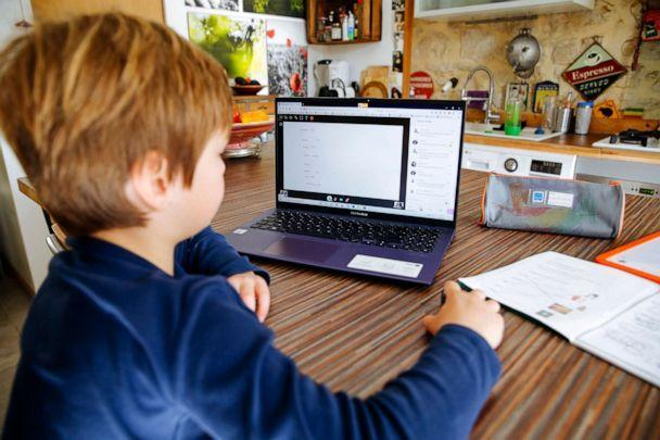 PHOTO: Stock photo of boy attending classes online.  (STOCK PHOTO/Getty Images)