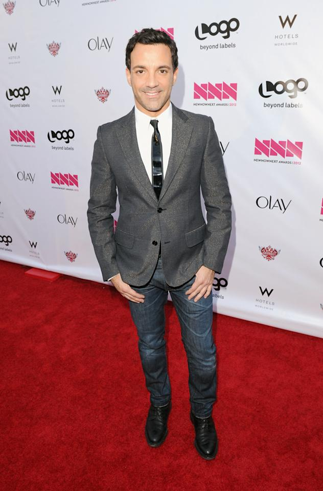 George Kotsiopoulos arrives at LOGO's NewNowNext Awards at Avalon on April 5, 2012 in Hollywood, California.