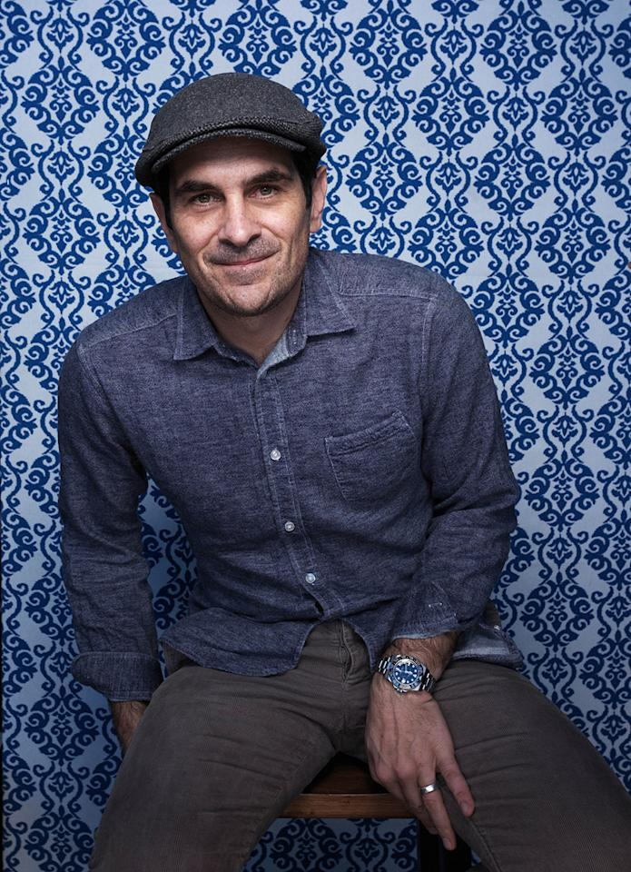 Ty Burrell from the film Goats, poses for a portrait during the 2012 Sundance Film Festival on Monday, Jan. 23, 2012, in Park City, Utah.
