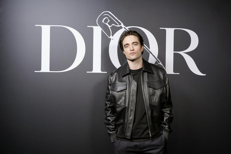 Robert Pattinson attends the Dior Homme Menswear Fall/Winter 2020-2021 show as part of Paris Fashion Week on January 17, 2020. (Photo by Francois Durand for Dior/Getty Images)