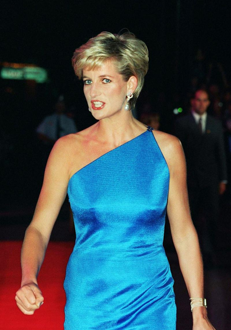 Apparently Diana would take home bikini posters for her sons. Photo: Getty