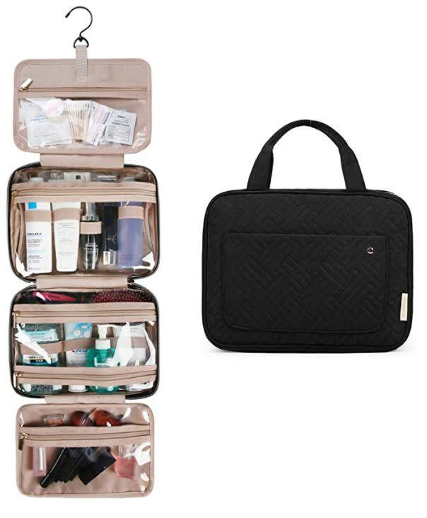 "Find this Bagsmart Toiletry Travel Bag for $23 on <a href=""https://amzn.to/39dt6VS"" rel=""nofollow noopener"" target=""_blank"" data-ylk=""slk:Amazon"" class=""link rapid-noclick-resp"">Amazon</a>."