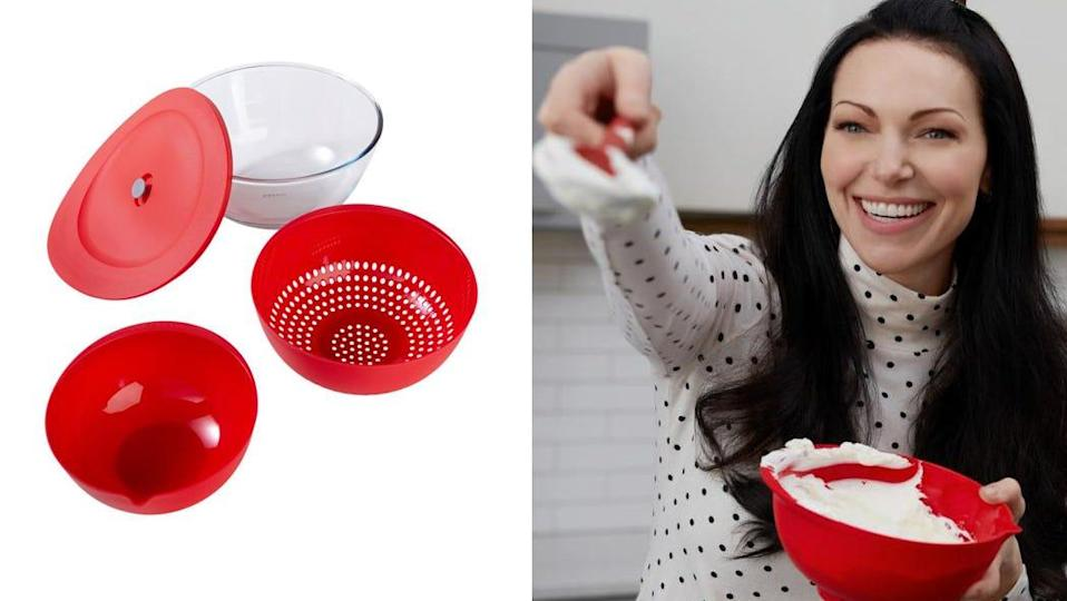 These nesting bowls are multi-use.