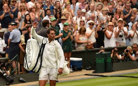 <span>Rafael Nadal played outstandingly well but couldn't get the victory</span> <span>Credit: afp </span>