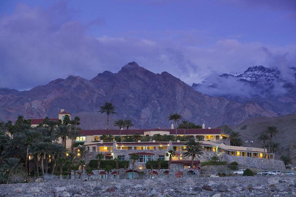 "<p>Known as the Furnace Creek Inn when it was built in 1927, the <a href=""https://www.oasisatdeathvalley.com/lodging/the-inn-at-death-valley/"" rel=""nofollow noopener"" target=""_blank"" data-ylk=""slk:Inn at Death Valley"" class=""link rapid-noclick-resp"">Inn at Death Valley</a> has offered desert refuge to the Hollywood set, from Marlon Brando to Clark Gable, for nearly 100 years. Having recently completed a $100 million renovation, the Inn has regained its status as one of the most luxurious hotels in Southern California, with spring-fed pools, a golf course, a spa, and of course spectacular views of Death Valley National Park's rocky mountains. Don't miss the Inn's sister property, The Ranch at Death Valley; together, the pair comprise the Oasis at Death Valley.</p>"
