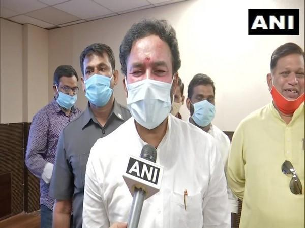 Minister of State for Home Affairs G Kishan Reddy (Photo/ANI)