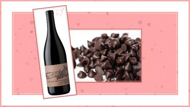 PHOTO: Chocolate and Wine Pairings for Valentines Day: Pair 6 (ABC News Photo Illustration)