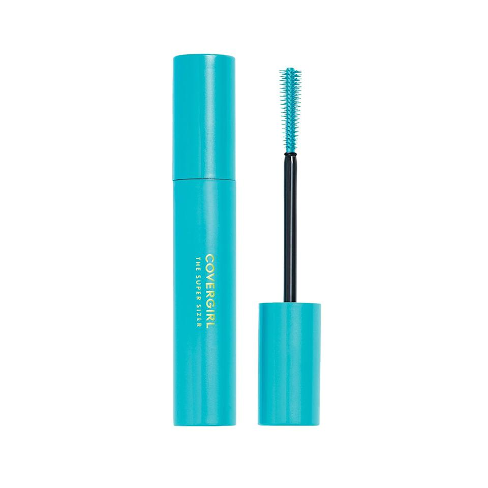 """<p>This drugstore selection has won both a <a href=""""https://www.allure.com/review/covergirl-super-sizer-lashblast-mascara-review?mbid=synd_yahoo_rss"""">Best of Beauty Award</a> and a Readers' Choice Award for its glossy black formula and wand, which is decked out with supershort bristles that help fan out lashes. Be sure to twirl the wand as you sweep it through your lashes to take full advantage of its maximizing powers.</p> <p>$6 (<a href=""""https://shop-links.co/1642214751907265276"""" rel=""""nofollow"""">Shop Now</a>)</p>"""