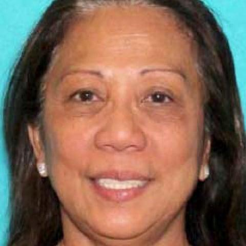 <span>Marilou Danley was 'located' after police issued an appeal for her whereabouts</span> <span>Credit: Las Vegas Metropolitan Police Department </span>
