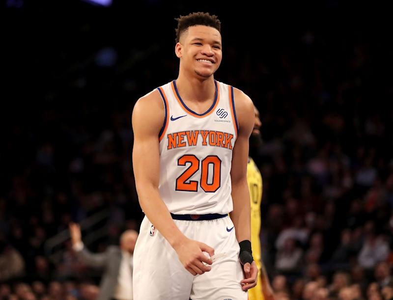 c3ca03f9ec7 Netflix and will  Rookie Kevin Knox binges shows like a TV critic but isn t  intimidated by New York s bright lights