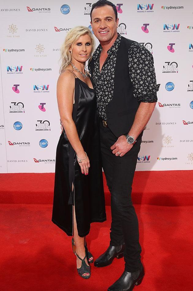 He will face court next month. Pictured with wife at the 2016 ARIA Awards. Source: Getty