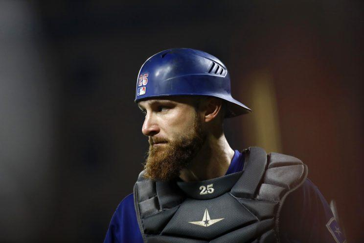 Rockies add catcher Jonathan Lucroy in trade with Rangers