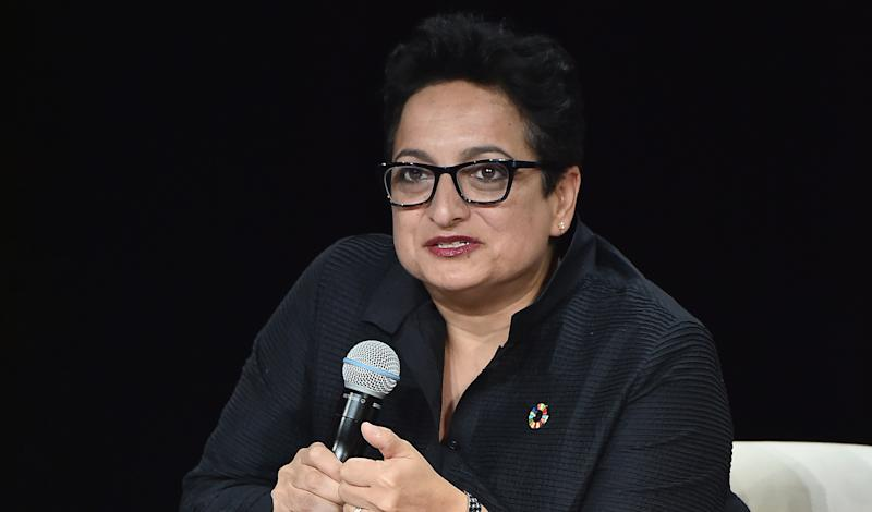 Shamina Singh is executive vice-president of sustainability at payments giant Mastercard. Photo: Getty