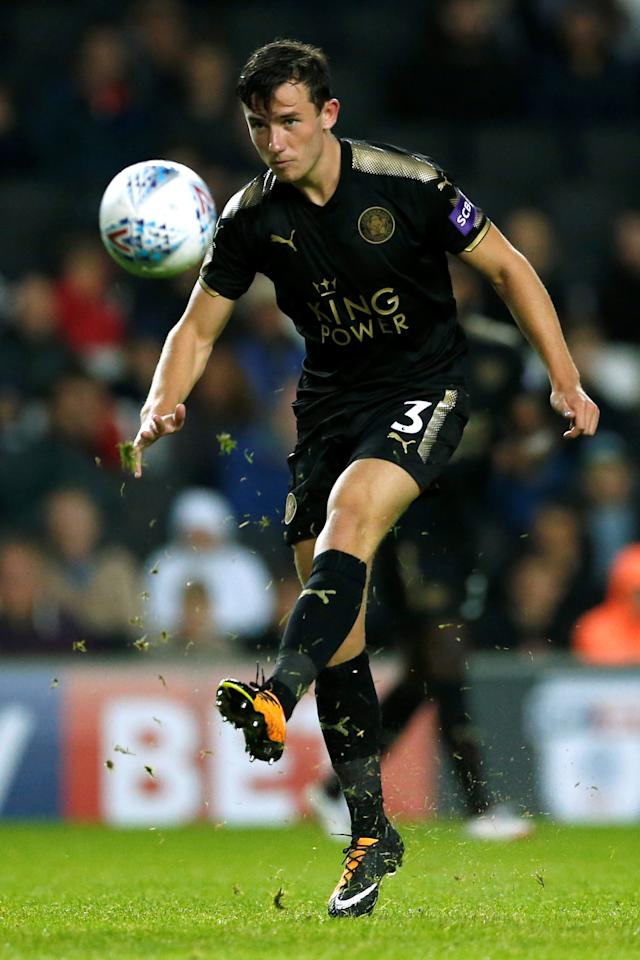 Soccer Football - Milton Keynes Dons vs Leicester City - Pre Season Friendly - Milton Keynes, Britain - July 28, 2017   Leicester City's Ben Chilwell   Action Images via Reuters/Andrew Boyers