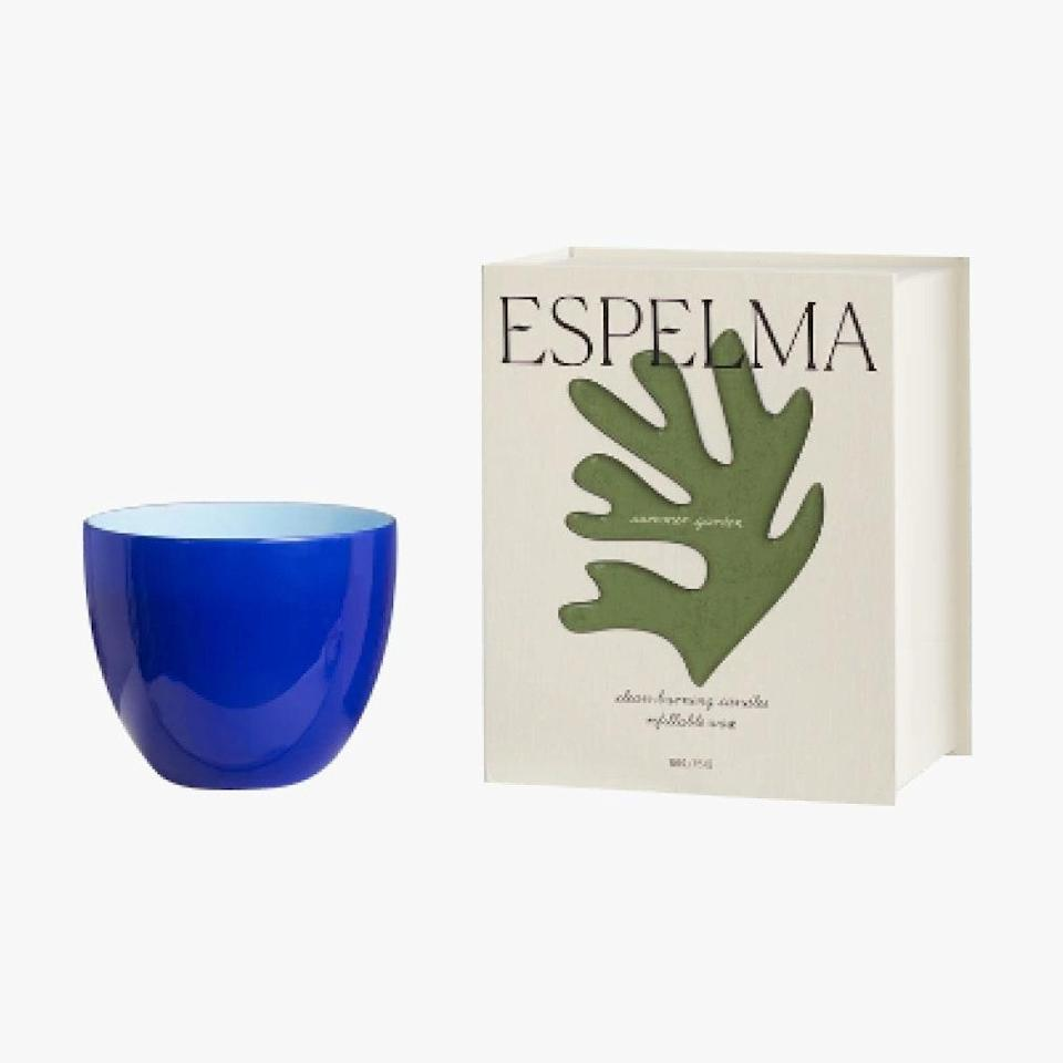 "The thick of winter may be upon us, but Espelma is bringing a bit of summer to these cold months with their handmade summer garden candle that features notes of jasmine, lavender, and fresh rosemary. $110, ESPELMA. <a href=""https://espelma.com/products/summer-garden"" rel=""nofollow noopener"" target=""_blank"" data-ylk=""slk:Get it now!"" class=""link rapid-noclick-resp"">Get it now!</a>"