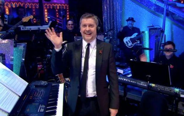 The Strictly band is led by conductor Dave Arch (Photo: BBC)