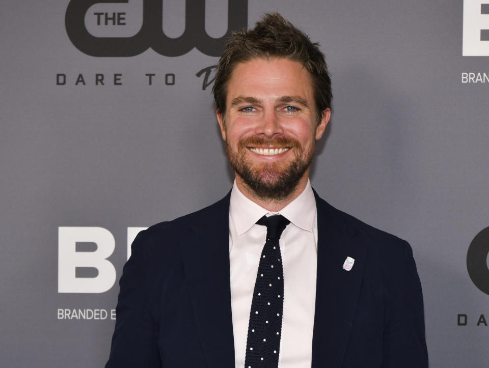 BEVERLY HILLS, CALIFORNIA - AUGUST 04: Stephen Amell attends The CW's Summer 2019 TCA Party sponsored by Branded Entertainment Network at The Beverly Hilton Hotel on August 04, 2019 in Beverly Hills, California. (Photo by Rodin Eckenroth/FilmMagic)