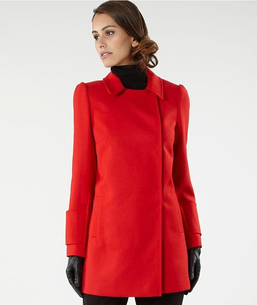 Be a princess in this wool coat complete with a short collar just like the duchess'. All you need now is your own Prince Charming and away you go…  £130, debenhams.com