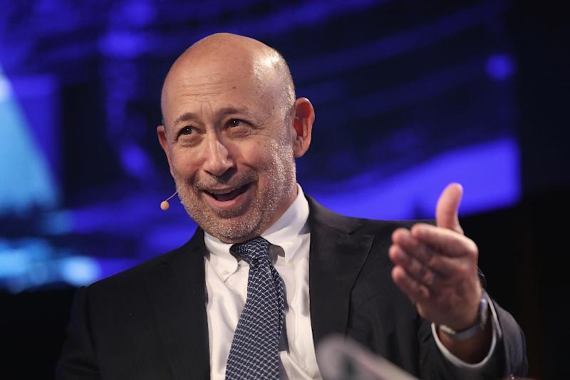 Goldman Sachs Names Solomon as Next in Line to Replace CEO Blankfein