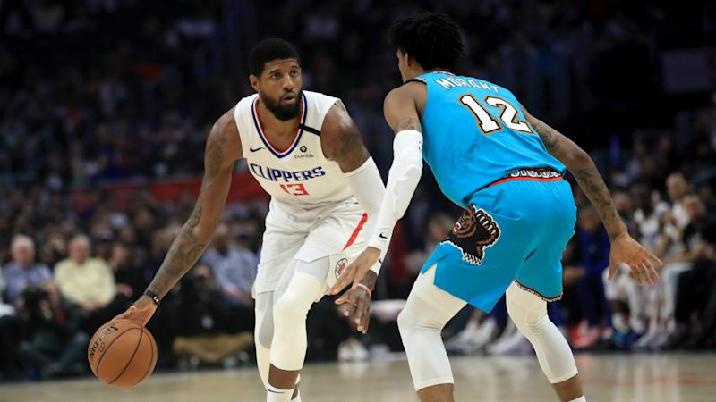 George challenges Clippers to show title credentials after snapping losing streak
